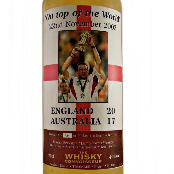 """On Top of the World"" 22nd November 2003 Single Malt Whisky"