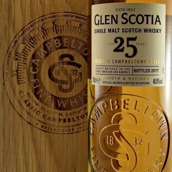 Glen Scotia 25 year old Campbeltown Single Malt Whisky