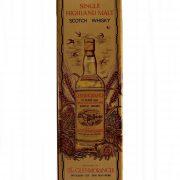 Glenmorangie 10 year old 1980's Single Malt Whisky