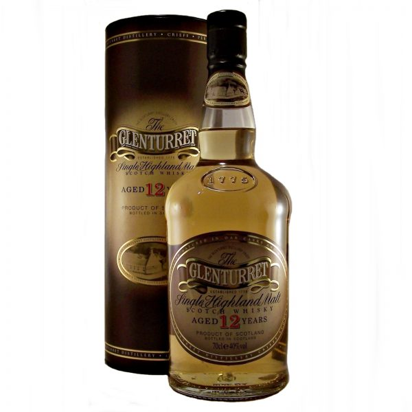 Glenturret 12 year old Single Highland Malt Whisky