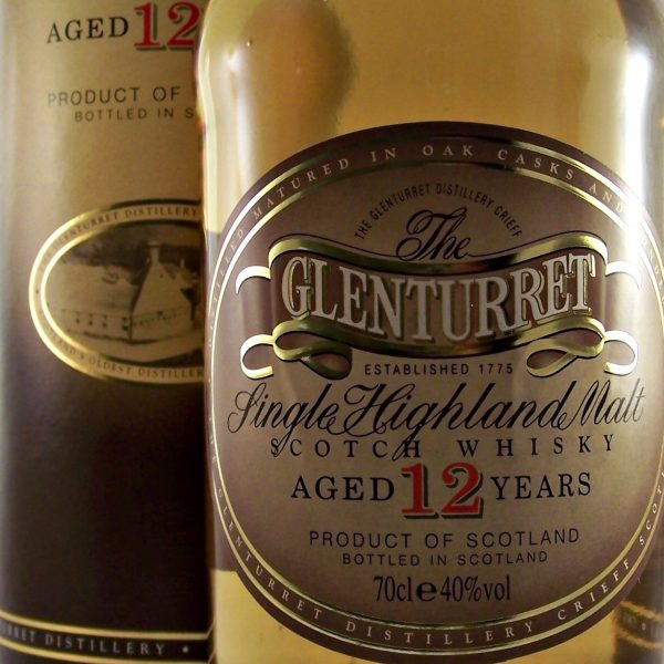 Glenturret 12 year old Single Highland Malt Scotch Whisky