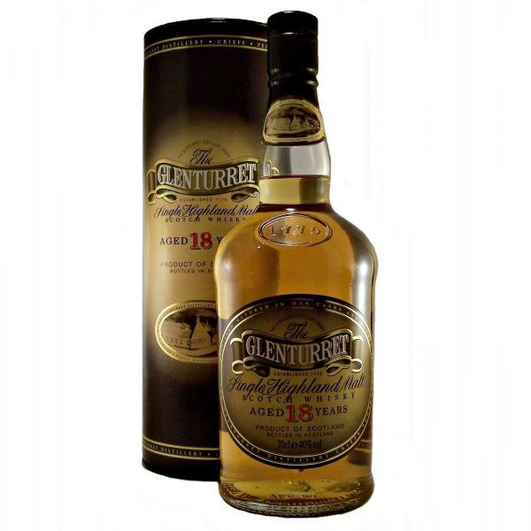 Glenturret 18 year old Single Highland Malt Whisky