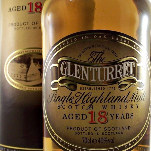 Glenturret 18 year old Single Highland Malt Scotch Whisky