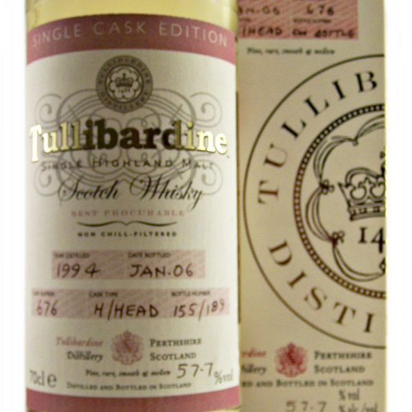 Tullibardine 1994 Single Cask Strength Whisky