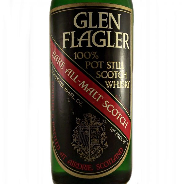 Glen Flagler 100% Pot Still Scotch Whisky