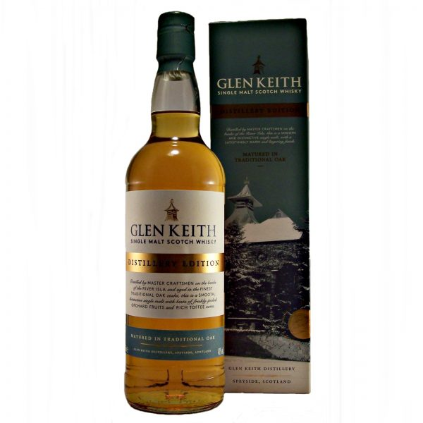 Glen Keith Distillery Edition Single Malt Whisky