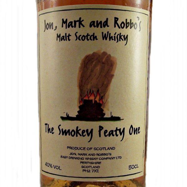 Jon, Mark and Robbo's The Smokey Peaty One whisky