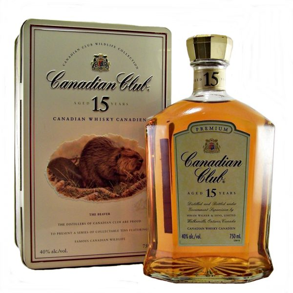 Canadian Club 15 year old Whisky