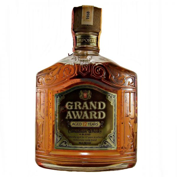 Grand Award 12 year old Canadian Whisky 1968