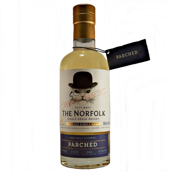 The Norfolk Parched Vintage Single Grain Whisky