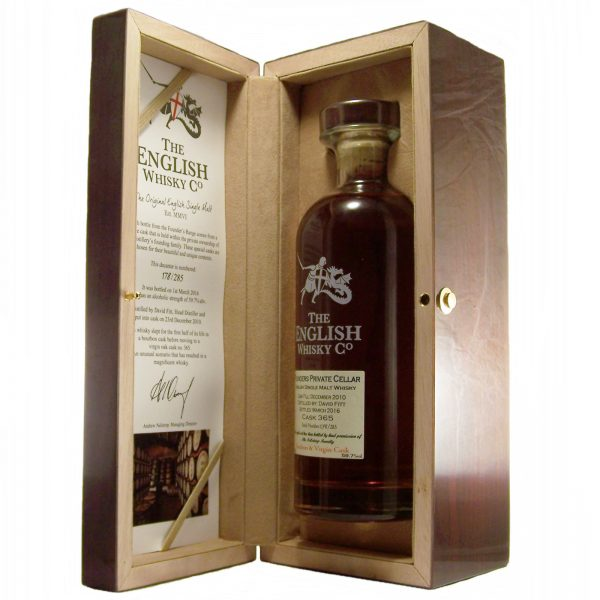 St George's English Whisky Founders Private Cellar