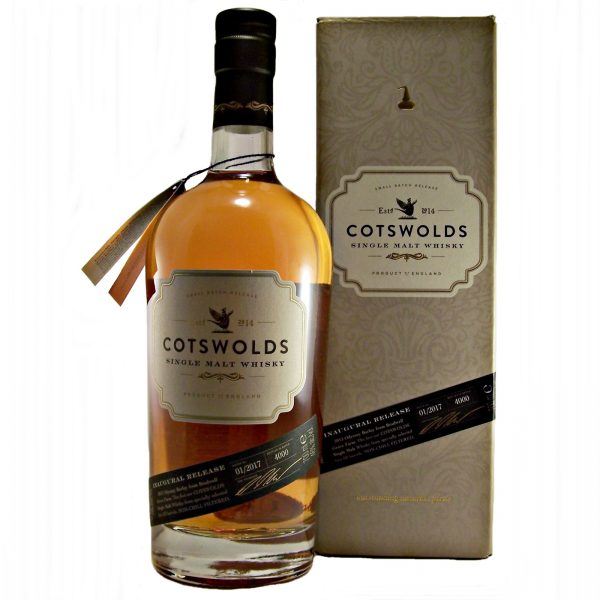 Cotswolds Single Malt Whisky Inaugural Release