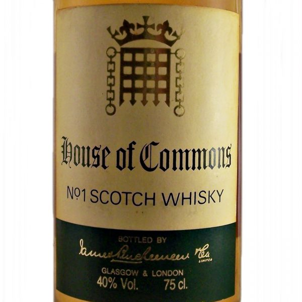 House of Commons 12 year old No.1 Scotch Whisky