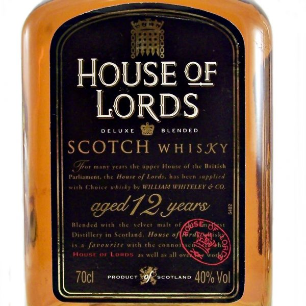 House of Lords 12 year old Blended Scotch Whisky