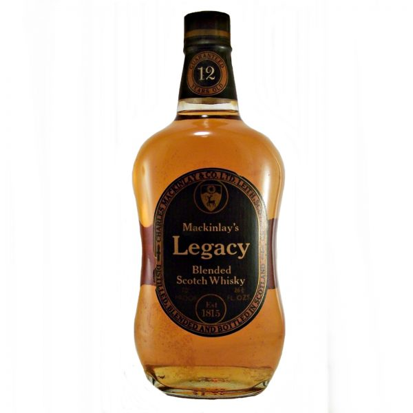 Mackinlay's Legacy 12 year old Scotch Whisky 1970's