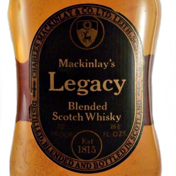 Mackinlay's Legacy Blended Scotch Whisky 1970's 12 year old