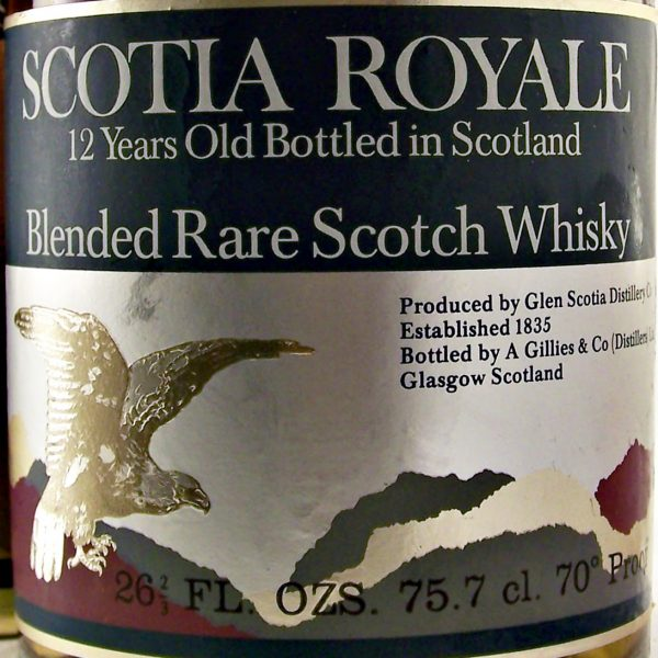 Scotia Royale 12 year old Blended Rare Scotch Whisky Glen Scotia