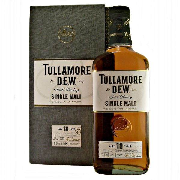Tullamore 18 year old Single Malt Irish Whiskey