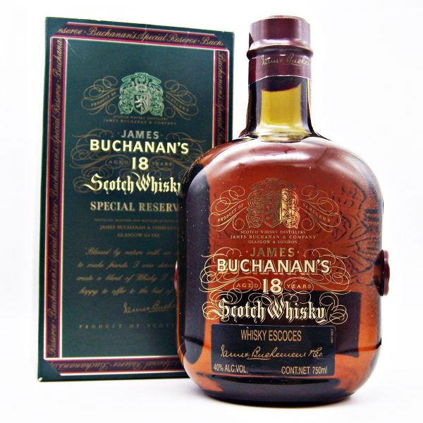 Buchanan's 18 year old Blended Scotch Whisky