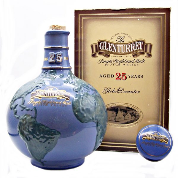 Glenturret 25 year old Globe Decanter