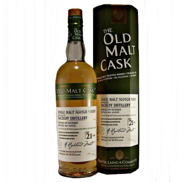 MacDuff Single Malt Whisky 21 year old