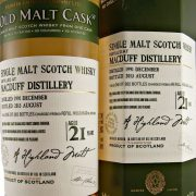 MacDuff Single Malt Whisky 21 year old Douglas Laing