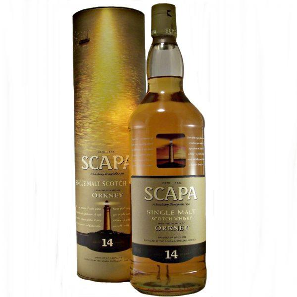 Scapa 14 year old Single Malt Whisky 1 Litre Bottle