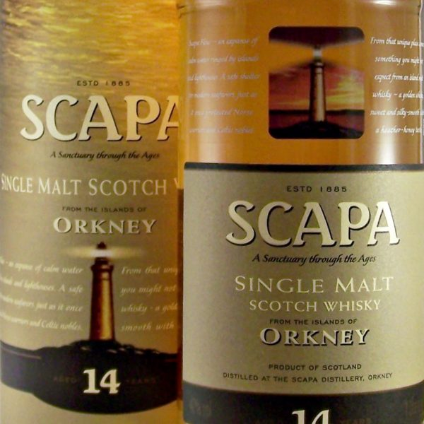 Scapa 14 year old Single Malt Whisky