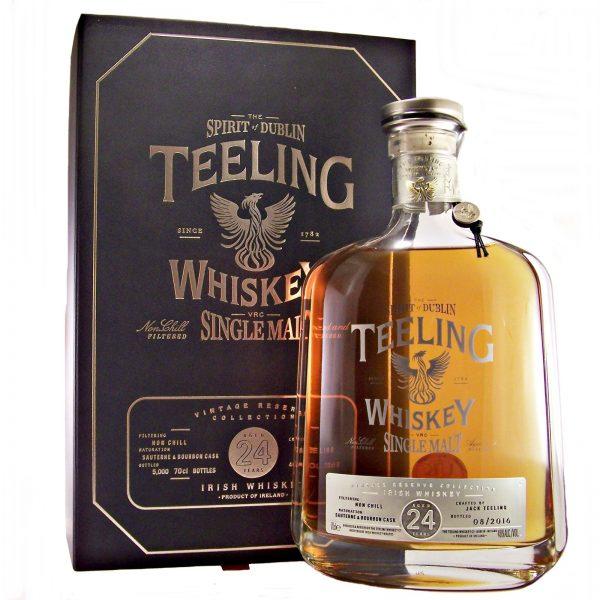 Teeling 24 year old Irish Single Malt Whiskey