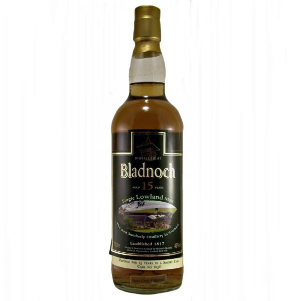 Bladnoch 15 year old Single Malt Whisky