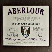 Aberlour Sherry Cask Selection 200 years