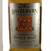 Hazelburn 8 year old Single Malt Whisky Springbank