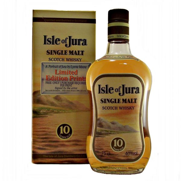 Isle of Jura 10 year old Early bottling
