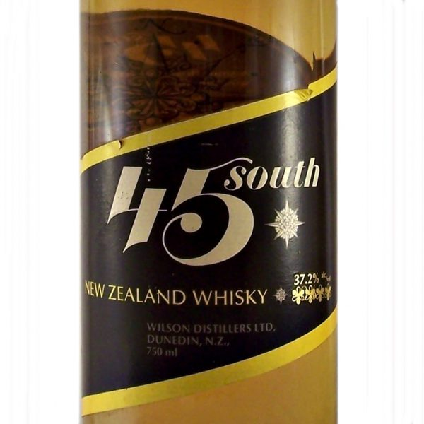 45 South New Zealand Whisky Willowbank Distillery