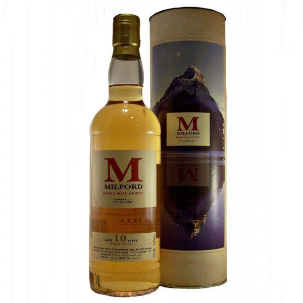 Milford 10 year old New Zealand Single Malt Whisky