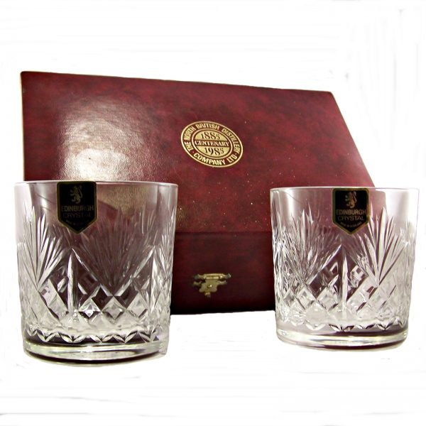 North British 1985 Edinburgh Crystal Glasses