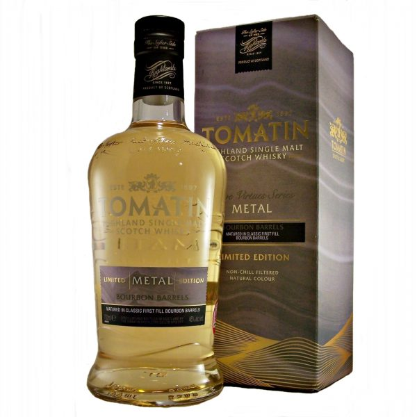 Tomatin Five Virtues Metal Edition