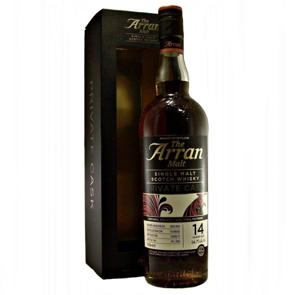 Arran Private Cask 14 year old
