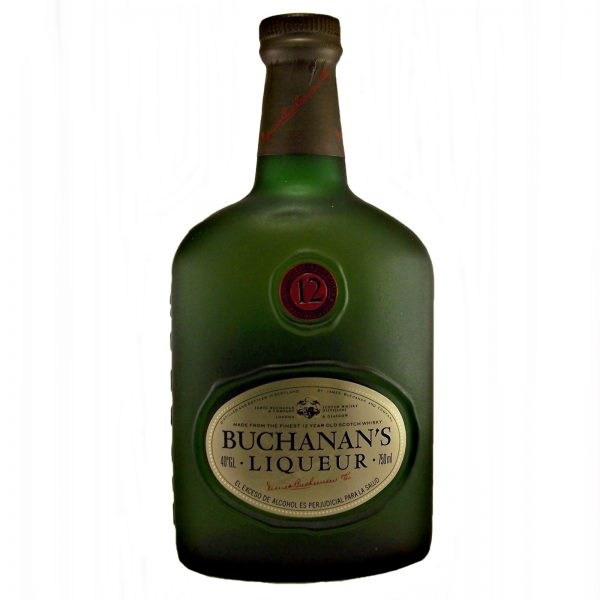 Buchanan's 12 year old Whisky Liqueur