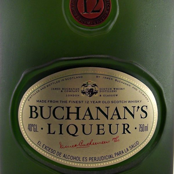Buchanans 12 year old Whisky Liqueur