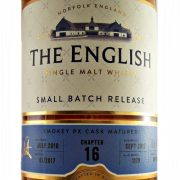 English Whisky Chapter 16 PX Cask from whiskys.co.uk