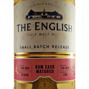 English Whisky Rum Cask Matured Single Malt