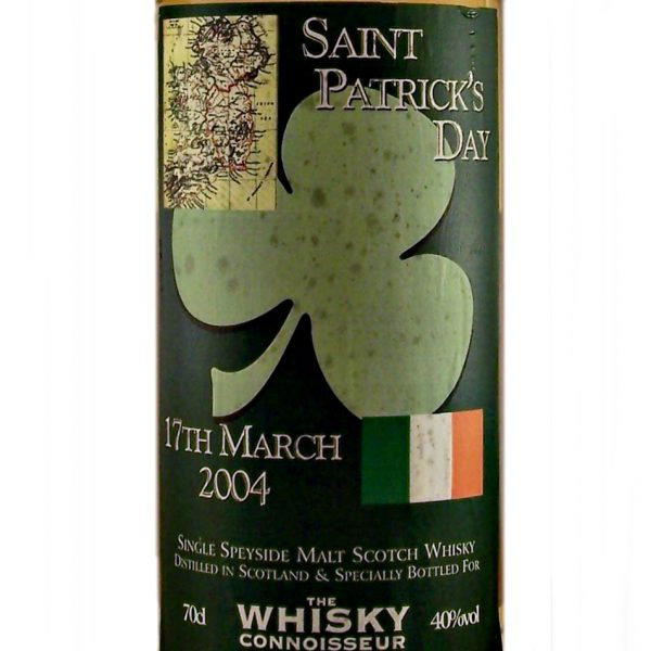Saint Patrick's Day 17th March 2004 Single Malt Whiskey