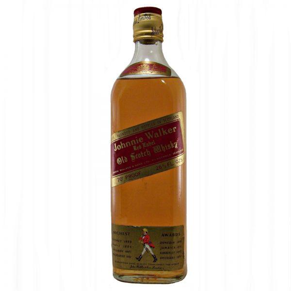 Johnnie Walker Red Label 1970's scotch whisky