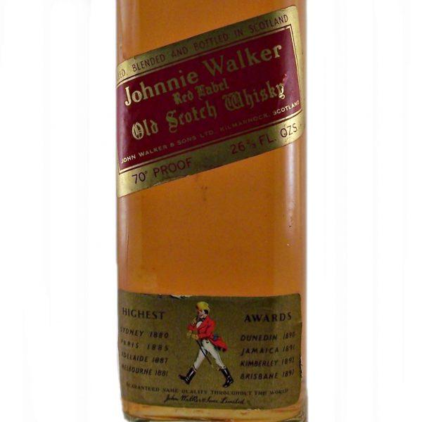 Johnnie Walker Red Label 1970's