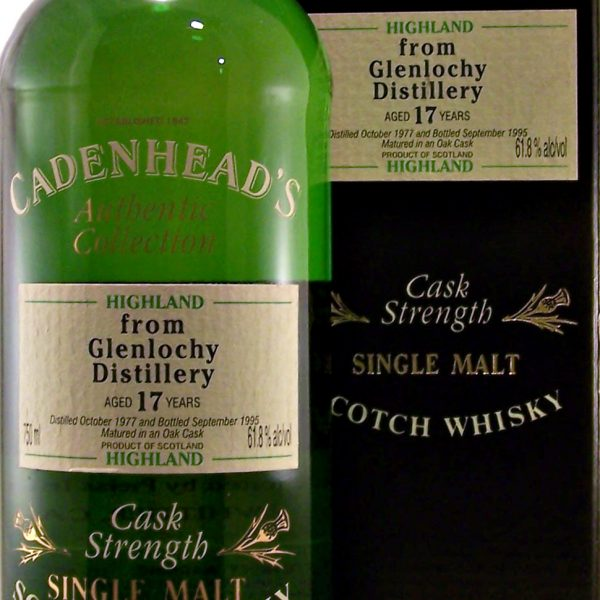 Glenlochy 17 year old Single Malt Whisky Cadenhead's