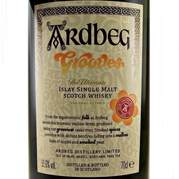 Ardbeg Grooves Committee Release Islay Single Malt Whisky