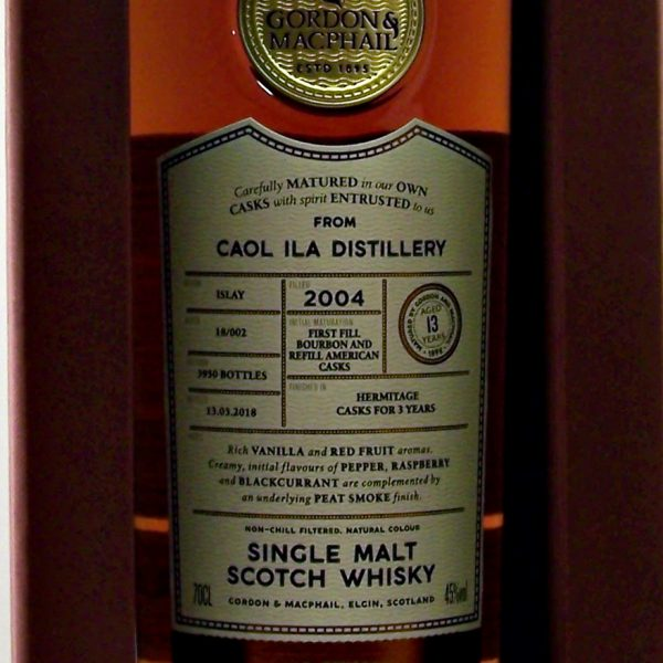 Caol Ila 2004 Single Malt Whisky Connoisseurs Choice