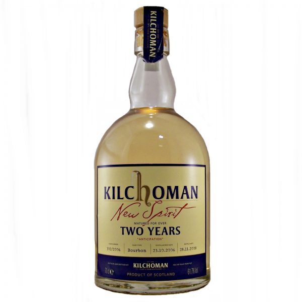 Kilchoman New Spirit Two Years