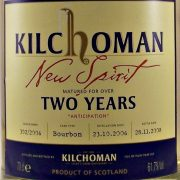 Kilchoman New Spirit Two Years anticipation